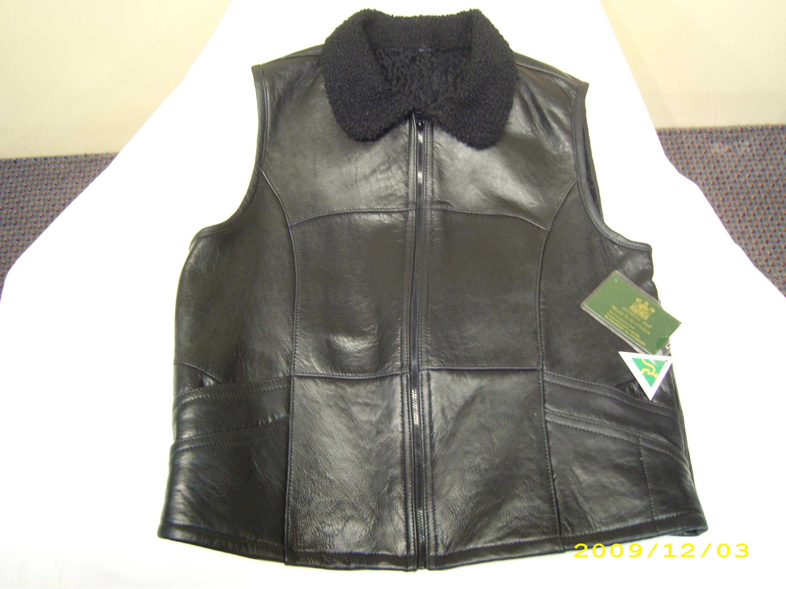 Auswool Pro Mens Lambskin Vests and Jackets MV-7